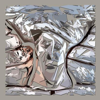 Peinture numérique sur toile du Chapiteau en ESJLA dans le cadre de l'exposition Comma