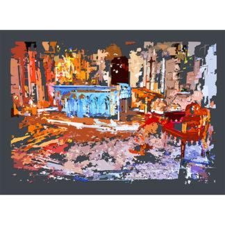Peinture numérique sur toile de Choeur de ESJLA de l'exposition Comma