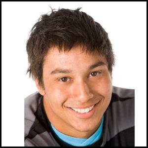 Photographie d'un jeune homme