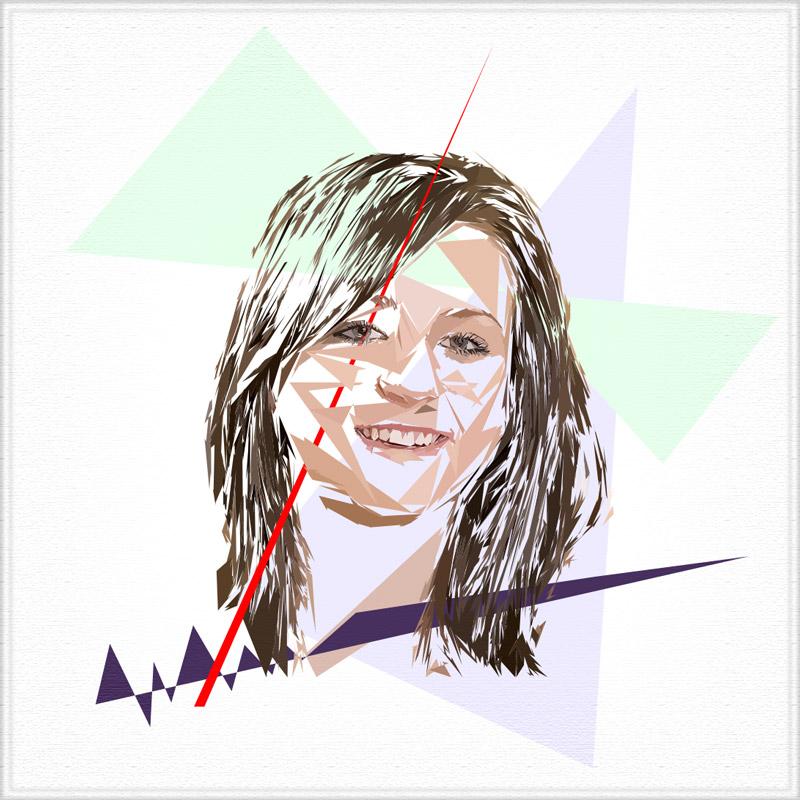 Peinture numérique de Jessika Latouche