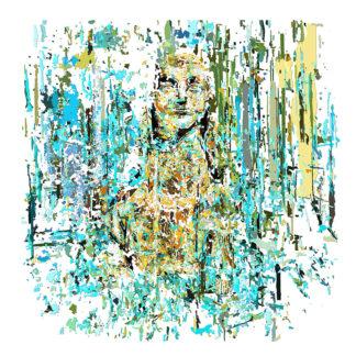 Peinture numérique sur toile de Livre de la sagessede l'exposition Comma