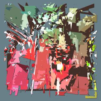 Peinture numérique sur toile de Voûte en ESJLA de l'exposition Comma