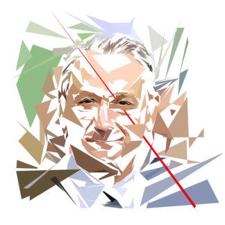 Bertrand Delanoë - Un personnage politiques représentés à la façon de l'éloge de l'approximation