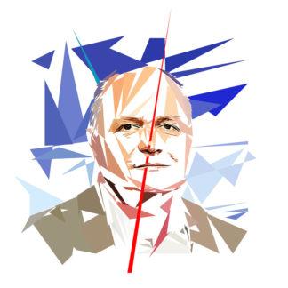 Bruno Leroux - Un personnage politiques représentés à la façon de l'éloge de l'approximation