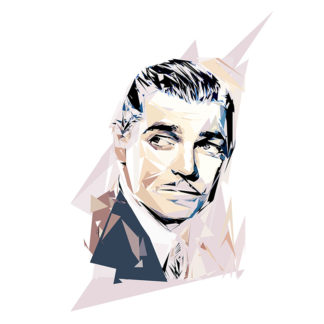 Portrait de Clark Gable