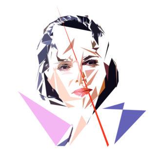 Rachida Dati - Un personnage politiques représentés à la façon de l'éloge de l'approximation