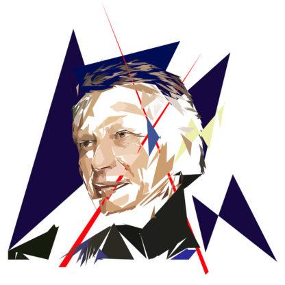 Dominique de Villepin - Un personnage politiques représentés à la façon de l'éloge de l'approximation