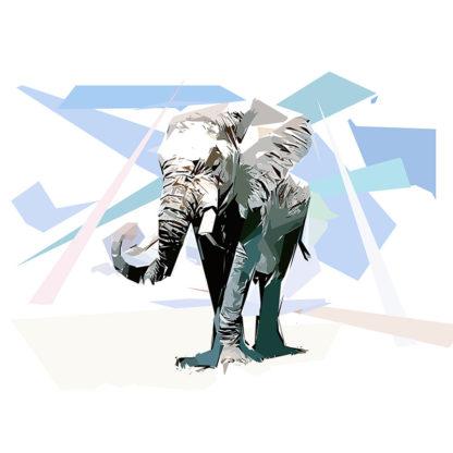 Portrait d'un Éléphant