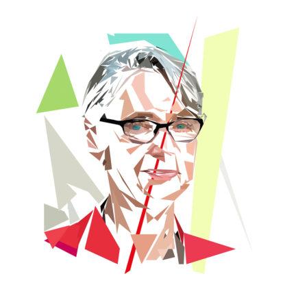 Élisabeth Borne - Un personnage politiques représentés à la façon de l'éloge de l'approximation