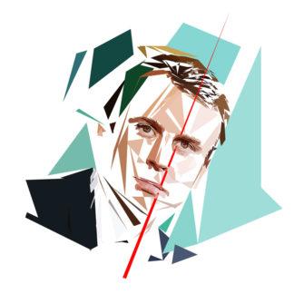 Emmanuel Macron - Un personnage politiques représentés à la façon de l'éloge de l'approximation