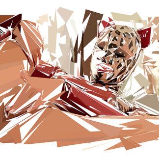 Peinture numérique sur toile de « Fetish » à la manière de l'éloge de l'approximation