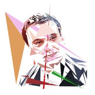 Florian Philippot - Un personnage politiques représentés à la façon de l'éloge de l'approximation