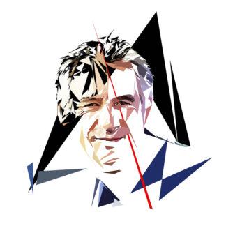 François Bayrou - Un personnage politiques représentés à la façon de l'éloge de l'approximation