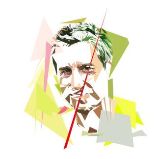 François Ruffin - Un personnage politiques représentés à la façon de l'éloge de l'approximation