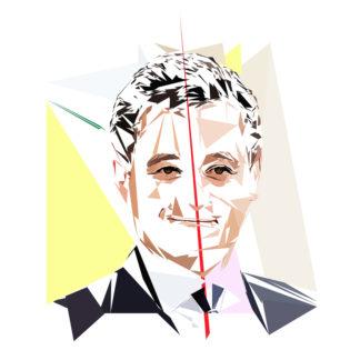 Gérald Darmanin - Un personnage politiques représentés à la façon de l'éloge de l'approximation