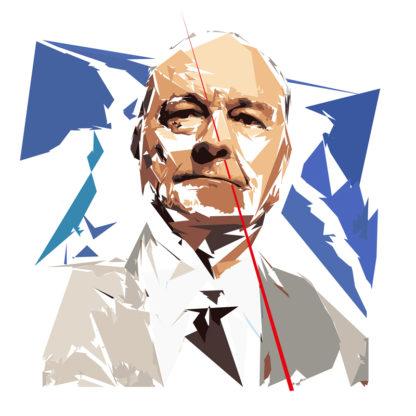 Jacques Chirac - Un personnage politiques représentés à la façon de l'éloge de l'approximation