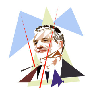 Jean Lassalle - Un personnage politiques représentés à la façon de l'éloge de l'approximation