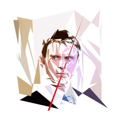 Manuel Valls - Un personnage politiques représentés à la façon de l'éloge de l'approximation
