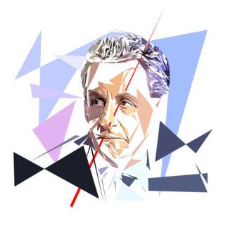 Nicolas Sarkozy - Un personnage politiques représentés à la façon de l'éloge de l'approximation