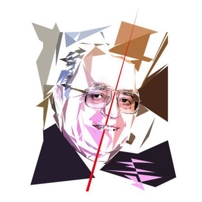 Pierre Bérégovoy - Un personnage politiques représentés à la façon de l'éloge de l'approximation
