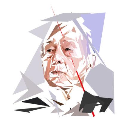 Valéry Giscard d'Estaing - Un personnage politiques représentés à la façon de l'éloge de l'approximation