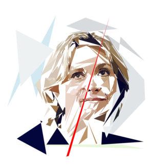 Valérie Pecresse - Un personnage politiques représentés à la façon de l'éloge de l'approximation