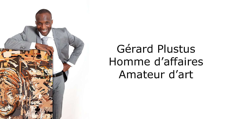 Monsieur Plustus, homme d'affaires et amoureux de l'art