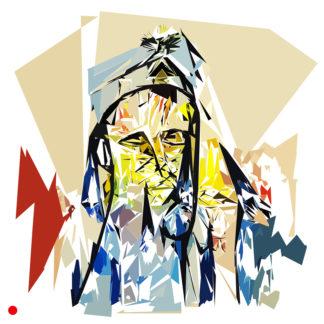 Appropriation et remake de « La procession à Seville, circa 1927 » de Francis Picabia dans le cadre de l'éloge de l'approximation et la perception liée à la mémoire vaporeuse.