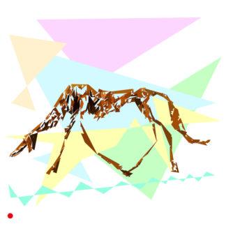 Appropriation et remake du tableau « Une chienne d'amitié » de Giacometti dans le cadre de l'éloge de l'approximation et la perception liée à la mémoire vaporeuse.