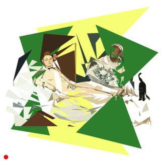 Appropriation et remake du tableau « Olympia » de Édouard Manet dans le cadre de l'éloge de l'approximation et la perception liée à la mémoire vaporeuse.