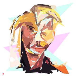 Appropriation et remake du tableau « Self - portrait - 1930 » de Francis Bacon dans le cadre de l'éloge de l'approximation et la perception liée à la mémoire vaporeuse.