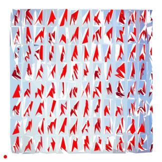 Appropriation et remake du tableau « papiers collés - 1967 » de Louis Cane dans le cadre de l'éloge de l'approximation et la perception liée à la mémoire vaporeuse.