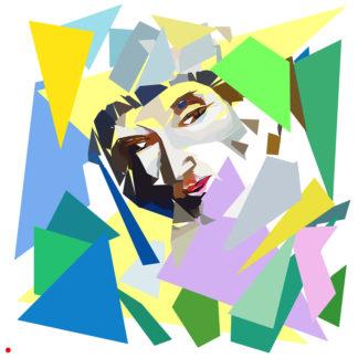 Appropriation et remake du tableau « Portrait de l'artiste - 1914 » de Marc Chagall dans le cadre de l'éloge de l'approximation et la perception liée à la mémoire vaporeuse.