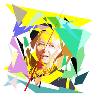 Aude de Kerros est Graveur, peintre, et essayiste. Lauréate du prix Adolphe Boschot de la critique d'art en 2012