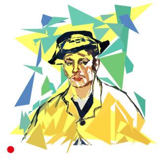 Portrait d'Amand Roulin à l'âge de 17 ans - Vincent van Gogh