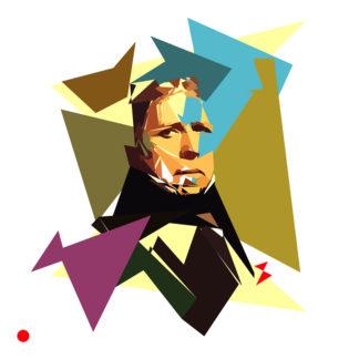 Appropriation et remake de l'autoportrait de Jean-Auguste-Dominique Ingres en1858