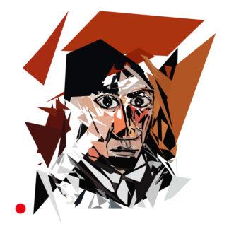 Approximation et remake du tableau « Autoportrait à la mèche (1907) » de Pablo Picasso